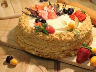 Торт домашний Наполеон